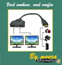 HDMI duplo Switch  Splitter Ligue 2 TV a PC DVD PlayStation