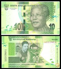 ( 105  ) ANO- 2018 – Africa south   10 rand