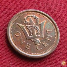 Barbados 1 cent 2010 KM# 10b   *V