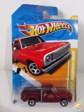 Hot Wheels 2012 -  034-1. `78 Dodge Lil´ Red Express Truck