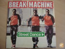 Disco Vinil – BREAK MACHINE – STREET DANCE (Maxi single)