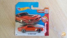 2016 HOT WHEELS - 68 SHELBY GT500        *NOVO*
