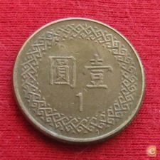 Taiwan Formosa (China) 1 yuan 1984 (73) Y# 551 Lt 597   *V
