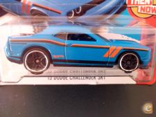 2016 HOT WHEELS - 2015 DODGE CHALLENGER SRT  1/64  *NOVO*