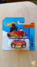 2015 HOT WHEELS - PEDAL DRIVER         *NOVO*