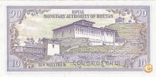 NOTA DO BHUTAN, 10 NGULTRUM DE 2000, NOVA