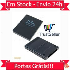 L17 CARTÃO MEMORIA 64 MB ORIGINAL - PS2 SONY PLAYSTATION 2