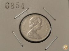 MEST - CANADÁ - 5 CENTS - 1968 ELIZABETH II