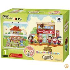 New Nintendo 3DS Branca + Animal Crossing Happy Home Design