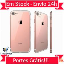 Z130 Capa Gel Silicone Transparente Apple iPhone 7 Envio 24h