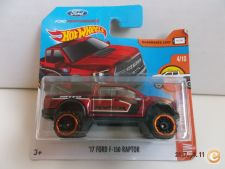 2017 Hot Wheels  010. `17 Ford F-150 Raptor