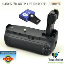 L55 Canon 7D GRIP + OFERTA Bluetooth Remote Novo em Stock