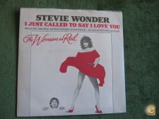 """Stevie Wonder-I Just Called To Say I Love You-Single 7"""" 45 R"""