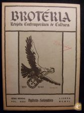 BROTÉRIA - REVISTA CONTEMPORÂNEA DE CULTURA (VOL 31) 1940