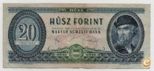 HUNGARY 20 FORINT 1980 PICK 169 G VER SCANS