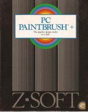 PC Paintbrush+: The Graphic Design Studio on a Disk (1989)