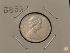 MEST - CANADÁ - 5 CENTS - 1975 ELIZABETH II
