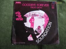 "Soundation-Goodbye Forever-Single 7"" 45 RPM."