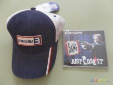 Pack ***EMINEM: Boné + CD Single*** Artigos Novos