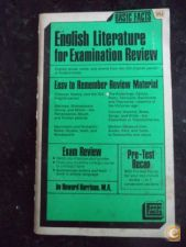 Basic Facts of English Literature for Examination Review