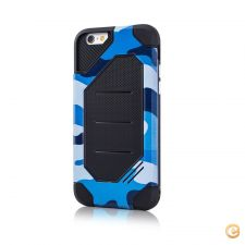 "Capa Anti-Choque ""Defender Army"" Azul iPhone 7 / iPhone 8"