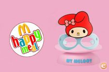 Óculos SANRIO My Melody - Happy Meal Da McDonald's - NOVO