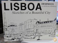 Lisboa : sketches of a beautiful city / Desenhos de Ladislau
