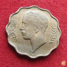 Iraque Iraq 4 fils 1938 KM# 105   *V