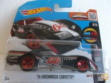 2016 Hot Wheels  063-2. `76 Greenwood Corvette