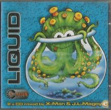 LIQUID mixed by X-Man & J.L.Magoya (2 CD)