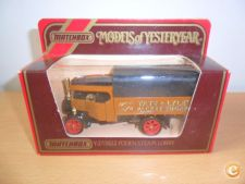 MATCHBOX Models of Yesteryear FODDEN STATE LORRY camiao RARO
