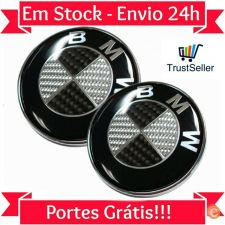 Kit Simbolo Emblema Carbono BMW 74mm & 82mm M Power E30 E46