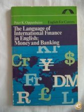The language of internacional finance in english: money and