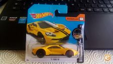 2017 HOT WHEELS - 17 FORD GT      1/64 NOVO