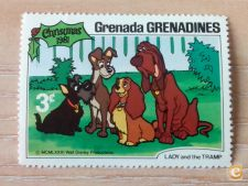 GRENADA GRENADINES - SCOTT 453 - NATAL - DISNEY