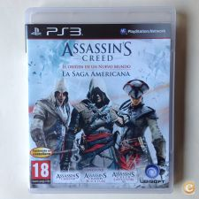Jogo PS3 Assassin's Creed The American Saga Collection