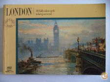 London 30 full-color cards (30 postais)
