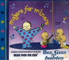 """BEE GEES FOR BABIES """"MAJORS FOR MINORS"""" NOVO (PORTES GRÁTIS)"""