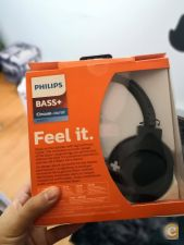 Vendo auscultadores Philips Bass+ SHB3175