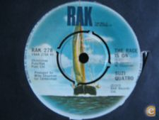 "Suzi Quatro-The Race is On-single 7"" 45 rpm"