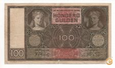 HOLANDA NETHERLANDS 100 GULDEN 1941 PICK 51 VER SCANS