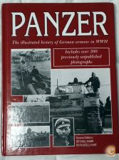 Livro PANZER - german armour of WW2 2ª guerra como novo