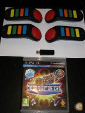 Comandos Buzz Ps3 + Jogo Buzz!: O Grande Desafio Musical