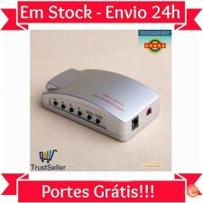 U03 Conversor Universal VGA para TV / RCA / S Video Stock