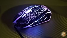Rato USB Optical Mouse Gamer Alta Precisao 1600dpi Stock