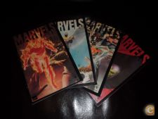 MARVELS - ALEX ROSS - COMPLETA EM 4 VOLUMES