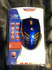 Rato USB Optical Mouse Gamer Alta Precisao 1200dpi Stock