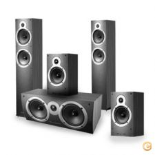 KIT Colunas Wharfedale Home Cinema Crystal