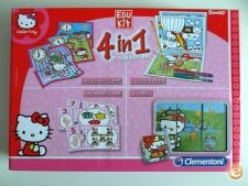 Hello Kitty - Edu kit 4 em 1 progressive