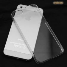 R236 Capa Gel Silicone Transparente Apple iPhone 5 5S SE